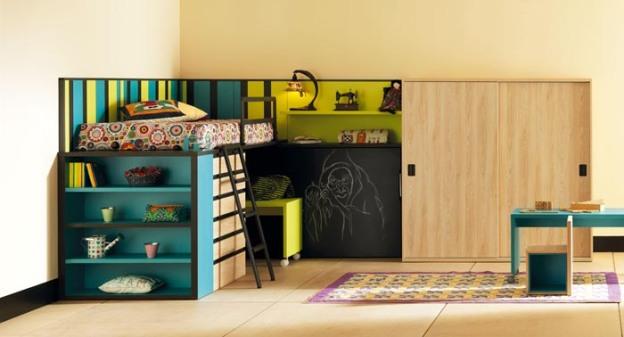 life-box-06-habitacion-infantil-con-litera-y-cama-abatible